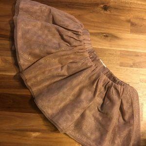 Toddler Old Navy glitter tutu skirt